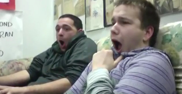 Two Men Watch Childbirth for the First Time view on ebaumsworld.com tube online.