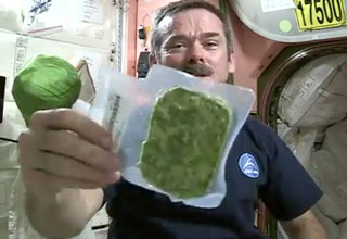 How You Eat Veggies In Space