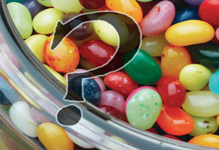 eBaum's World Contest: Guess How Many Jelly Beans