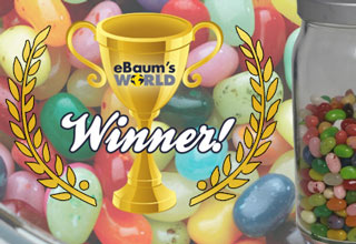 eBaum's World Jelly Bean Contest Winner