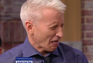 Anderson Cooper Tries His First Warhead