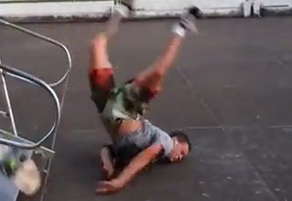 Skater Racks Himself Then Faceplants