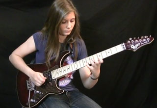 14 Year Old Girl's Awesome Cover Of