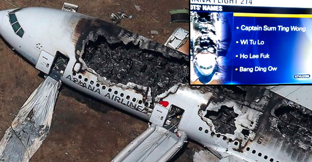 News Station Trolled With Flight 214 Fake Info view on ebaumsworld.com tube online.