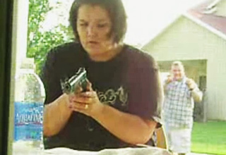 WayBack WHENsday: Husbands Pranks Wife Playing With Gun