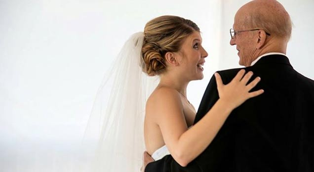 Daughter Throws A Fake Wedding For Her Dying Father view on ebaumsworld.com tube online.