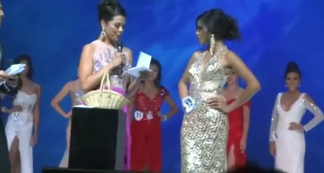 Beauty Contestant's Awkward Response To Question view on ebaumsworld.com tube online.