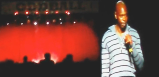 Dave Chappelle Heckled Off Stage view on ebaumsworld.com tube online.