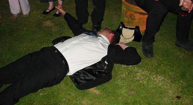 Drunk Guy Runs Over Flower Girl view on ebaumsworld.com tube online.