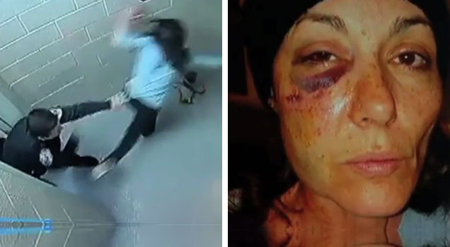 Does Skokie Cop Use Excessive Force Against Woman? view on ebaumsworld.com tube online.