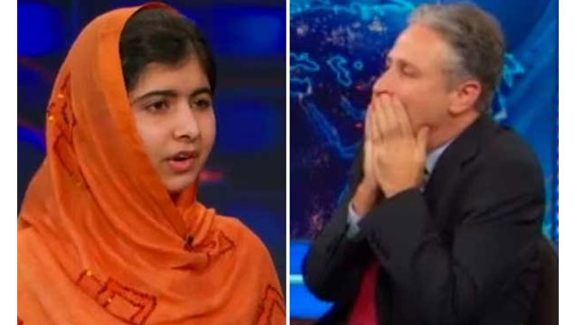 Watch This Incredible Young Woman Render Jon Stewart Speechless view on ebaumsworld.com tube online.