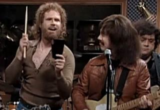 SNL more cowbell skit