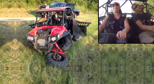 Polaris rzr 800s crash - YouTube |Polaris Rzr Crash