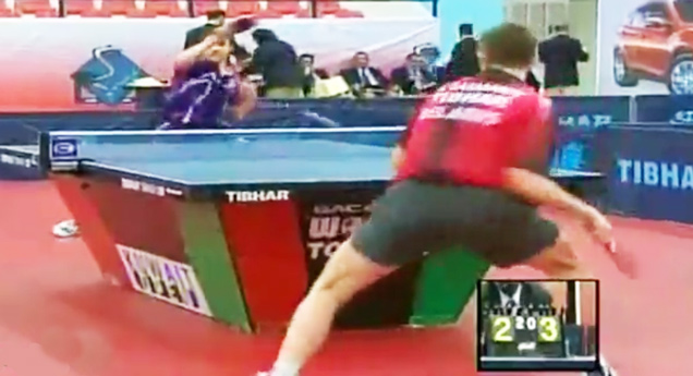 Ping pong shooting out of pussy