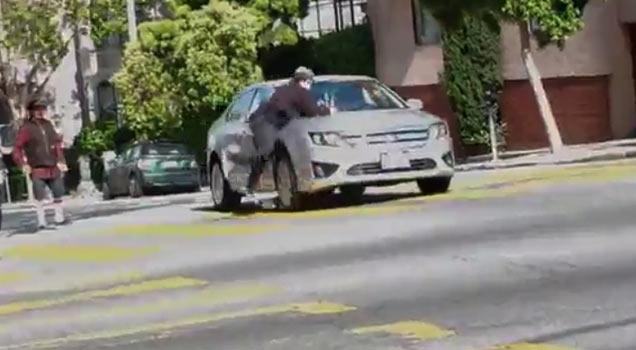 Skateboard Ollie Then Car Crash