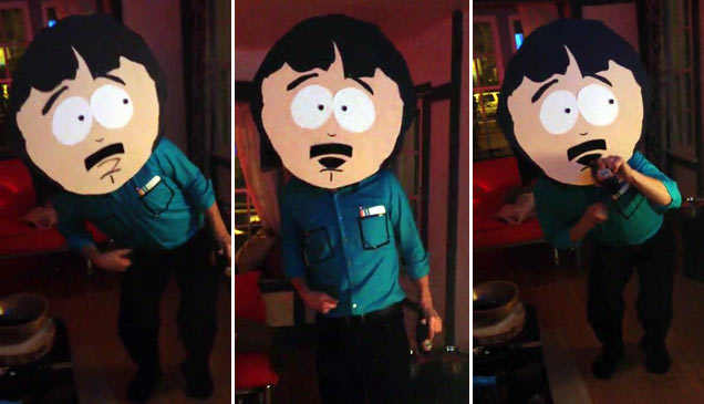 the best randy marsh costume ever pop culture video ebaums world - Southpark Halloween Costumes