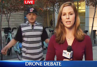 kid trolls reporter live tv