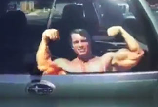 Arnold Schwarzenegger Windshiled Wipers