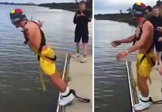 bungee jump off pier