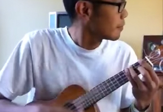 chop suey cover on ukulele