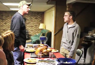 father song fighting thanksgiving