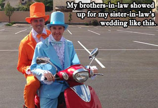 dumb and dumber wedding