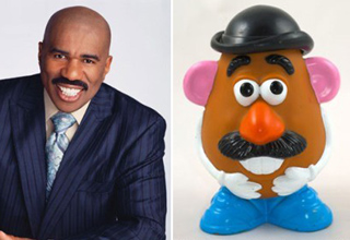 steve harvey and m