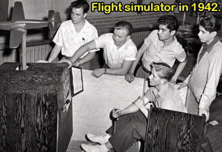 flight simulator in 1942