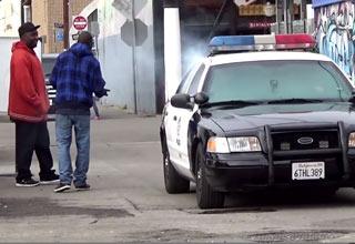 cops hotbox cruiser