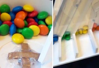 m&m sorting machine