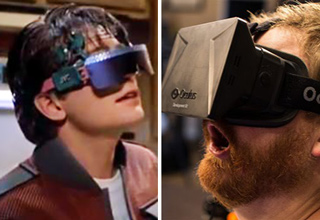 back to the future virtual reality glasses oculus rift