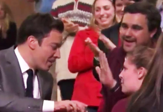 jimmy fallon rejects fan