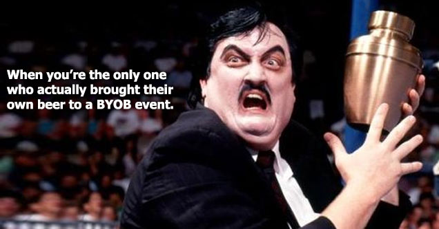 paul bearer bring your own beer