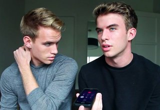 The Rhodes Bros come out to their father on iphon