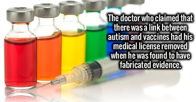 doctor who claimed vaccines cause autism lost his license