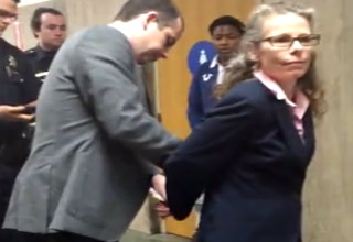 female attorney arrested in courthouse