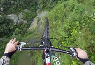 bicycle base jump fail