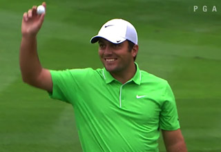 francesco molinari makes hole in one