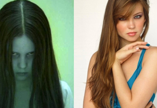 Left side pictured: The girl from the ring. Right side pictured: The girl from the ring, all grown up to be a to