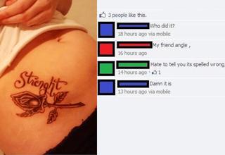 strenght tattoo
