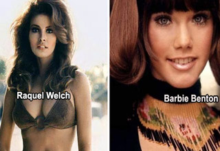 raquel welch and barbie bent
