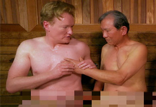 conan obrien and steven ye