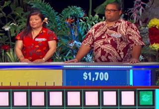 guy solves wheel of fortune puzzle with one letter