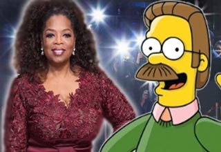 oprah and ned flanders are left handed