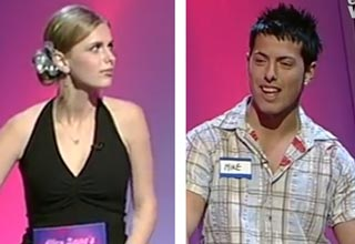 hot girl and game show contestant