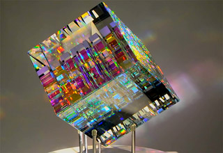 beautiful glass sculpture