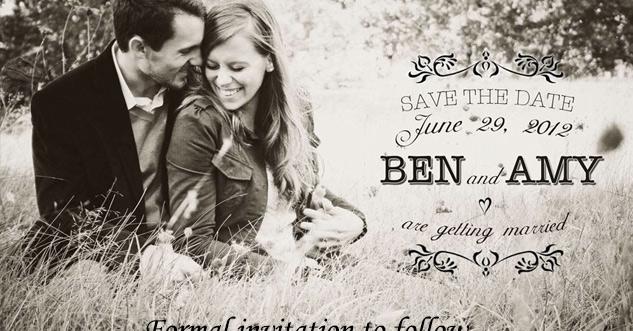 wedding invitation has something hiding in it.
