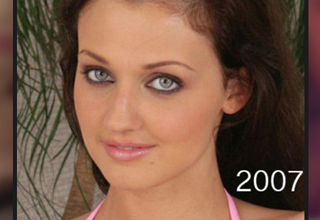 Aletta Ocean in 2007, pre-surgeries.
