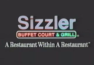 1991 sizzler logo and slogan