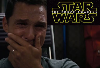 Matthew Mcconaughey's Reaction to Star Wars Teaser #2